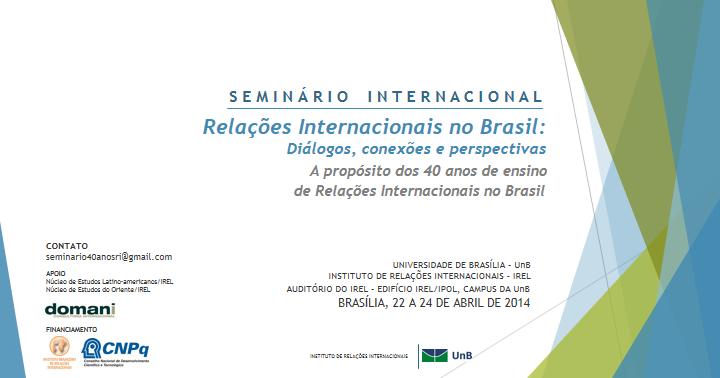 Tese de mestrado relacoes internacionais