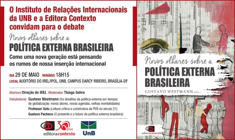 DEBATE POLITICA EXTETRNA BRASILEIRA